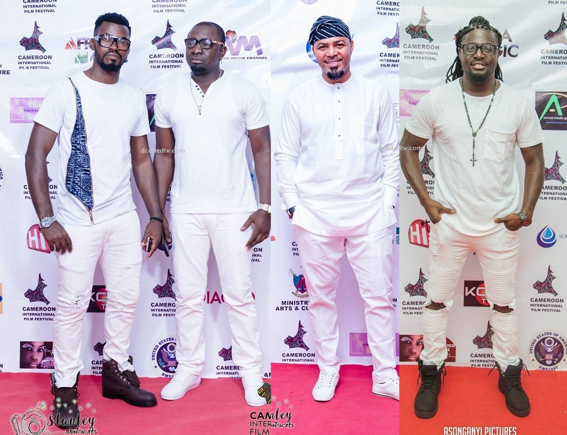 CAMIFF 2017 Best Dressed Men at Ciroc ALl-white Party,
