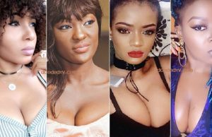 cameroonian celebrity cleavage shots