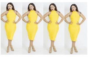 blanche bailly curves derriere tight dress