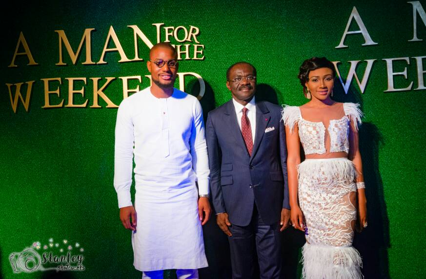 a man for the weekend movie premiere