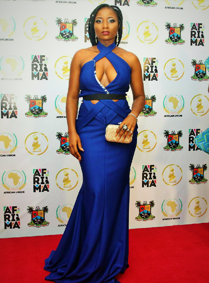 ewube afrima red carpet look