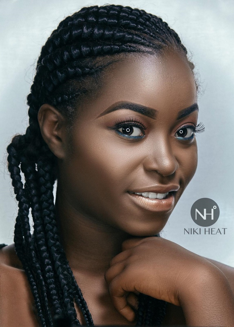 Niki Heat Just Proved Dark Skin Women Are Better Off With Nude Makeup - Dcoded Tv-5717