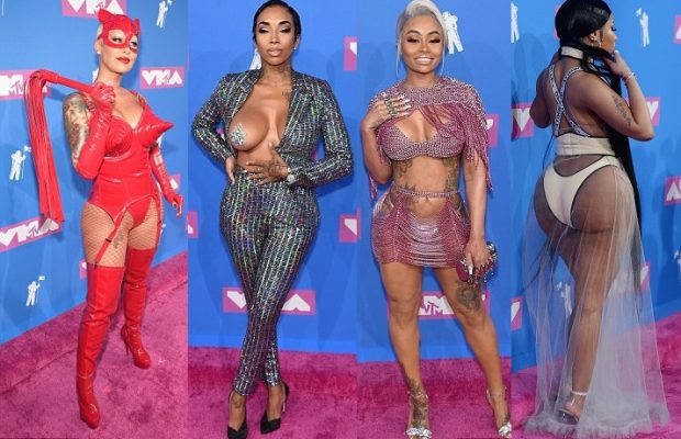 Mtv Video Music Awards 2018 The Most Shocking Skin Show Red Carpet Ever